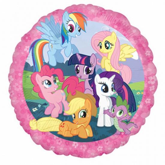 Image of My Little Pony ballonnen gevuld met helium