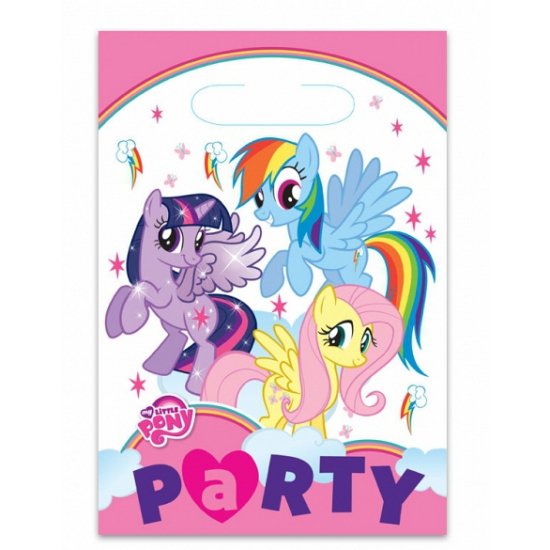 Image of My Little Pony kinderfeest zakjes