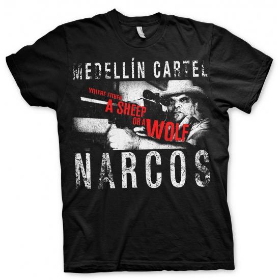 Image of Narcos Medellin Cartel t-shirt heren
