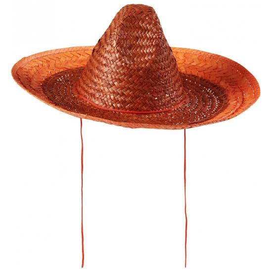 Nederland sombrero oranje 48 cm