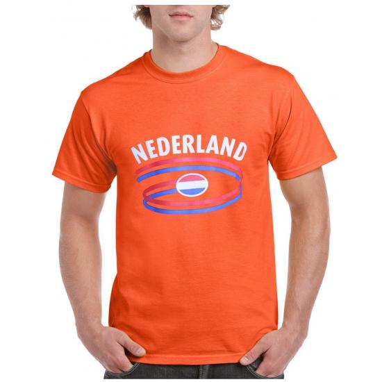 Nederland t shirt oranje