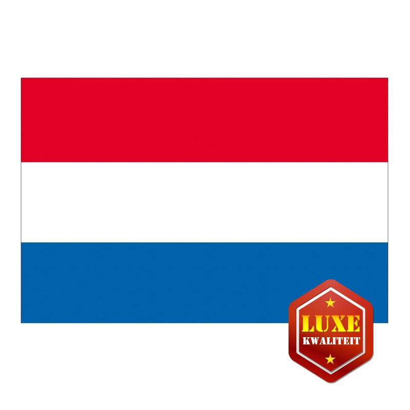 Nederlandse landen vlag groot