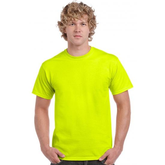 Image of Neon gele shirts voor volwassenen