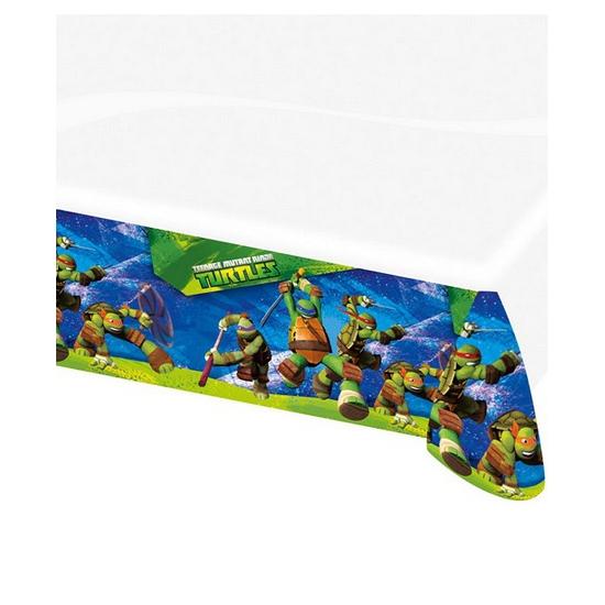 Image of Ninja Turtles themafeest tafelkleed