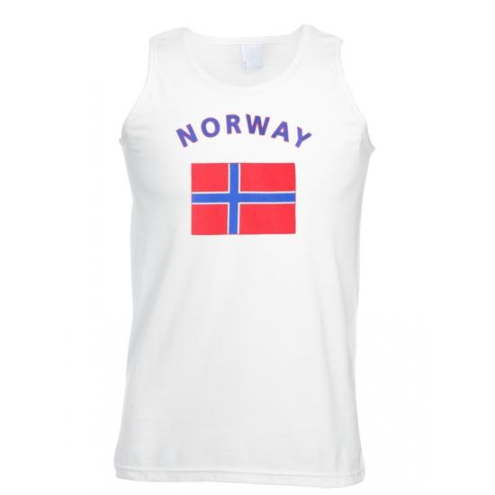 Image of Noorwegen tanktop met Noorse vlag print