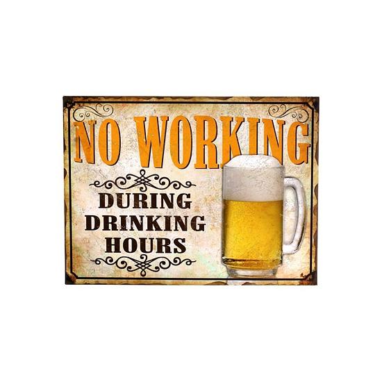 Image of Nostalgische platen bier