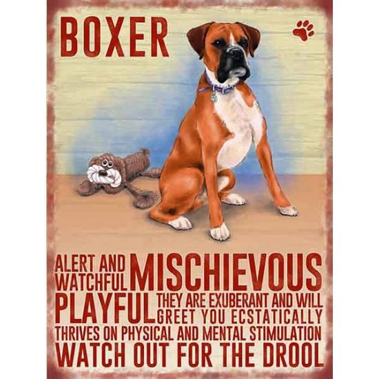 Image of Nostalgische platen Boxer