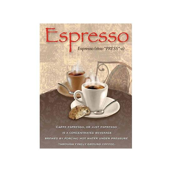 Image of Nostalgische platen Espresso