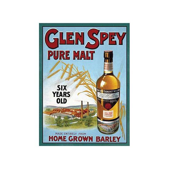 Image of Nostalgische platen Glen Spey
