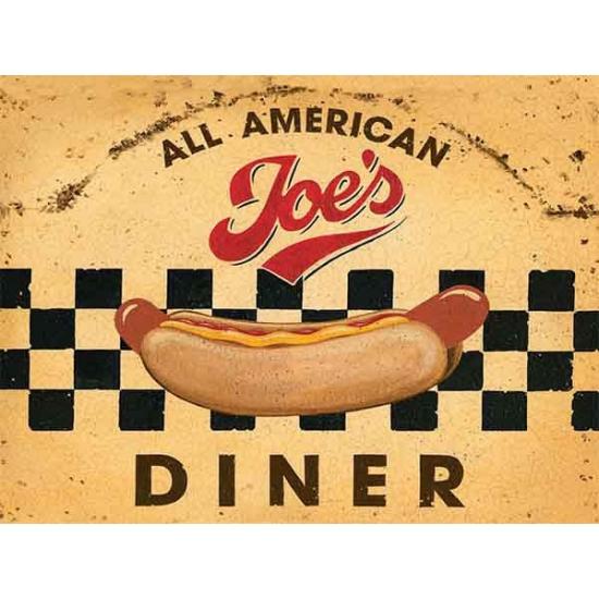 Image of Nostalgische reclame borden Diner