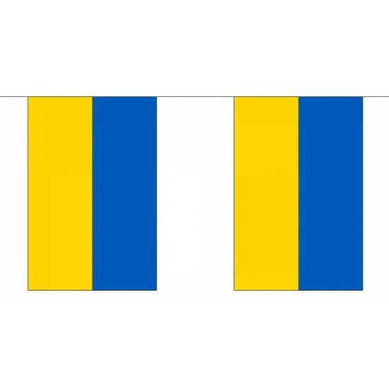 Oekraine vlaggenlijn 9 m