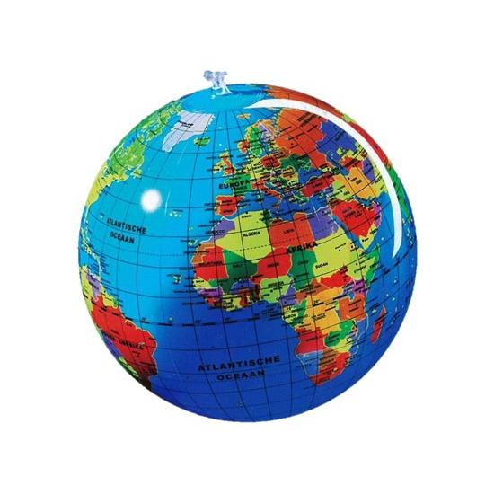 Image of Opblaas wereldbol 30 cm