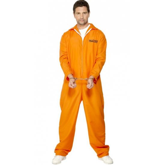 Oranje boevenpak voor heren