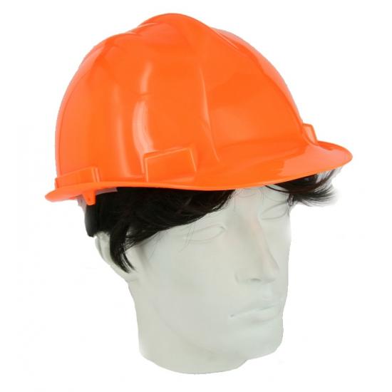 Image of Oranje bouwvakkershelm