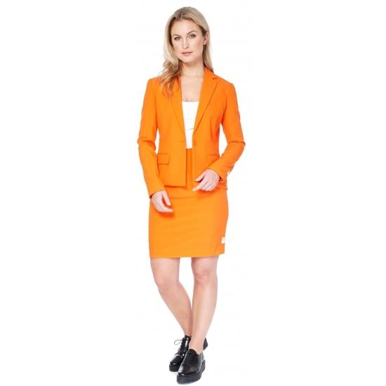 Image of Oranje business suit voor dames