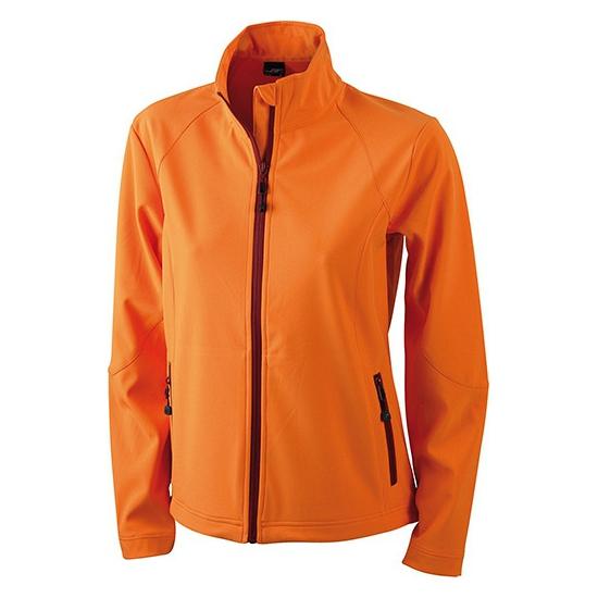 Oranje dames jasje softshell