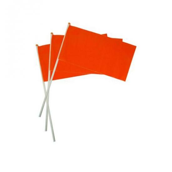Oranje hand vlaggetje