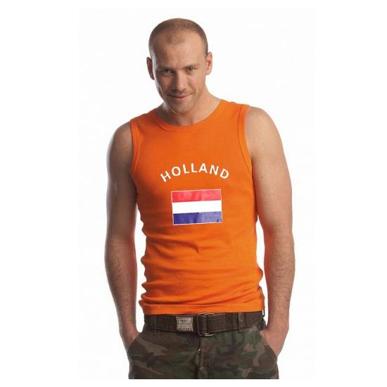 Oranje heren singlets Holland