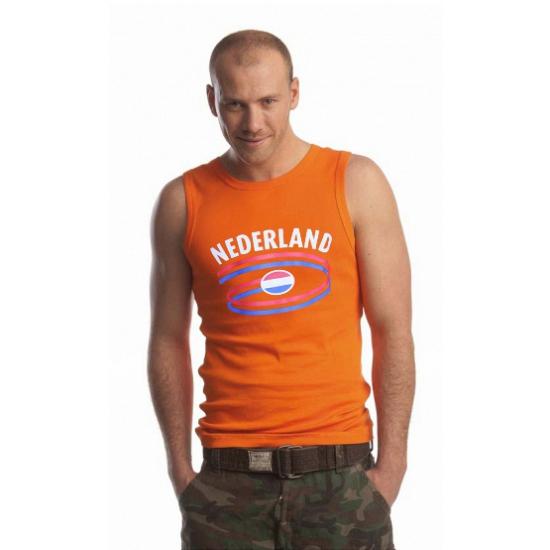 Oranje heren singlets Nederland