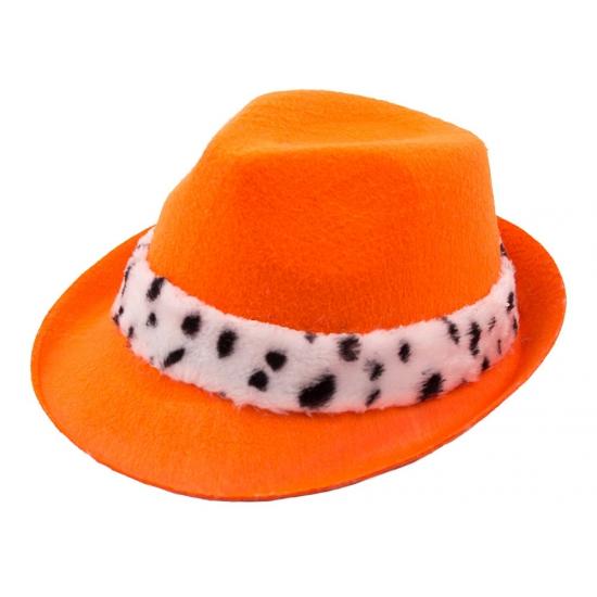 Oranje koningsdag hoed