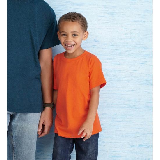 Oranje Koningsdag shirts voor kinderen