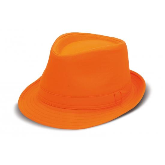 Oranje Michael Jackson hoedje