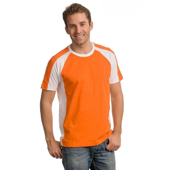 Oranje supporters shirt voor heren