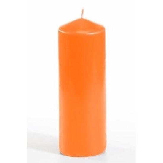 Image of Oranje versiering kaars 16,5 cm