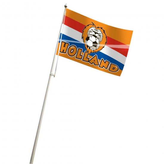 Oranje vlag Holland supporter
