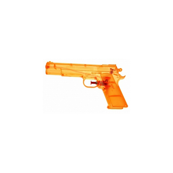Image of Oranje waterpistolen 20 cm