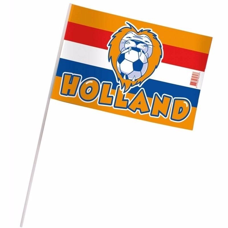 Oranje zwaaivlaggetjes Holland