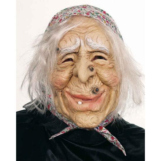 Image of Oude vrouw masker met pukkels