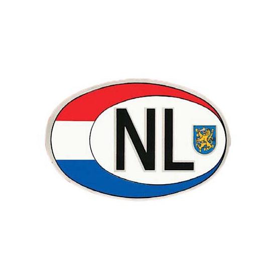 Ovaal NL sticker