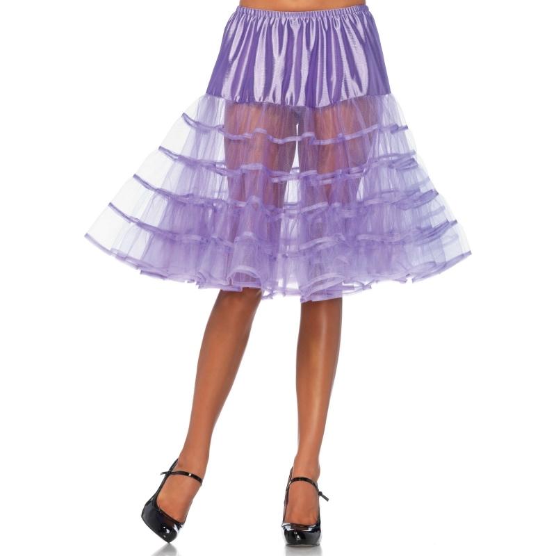 Image of Paarse jaren 50 petticoat voor dames