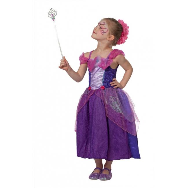 Image of Paarse prinses kostuums voor meisjes