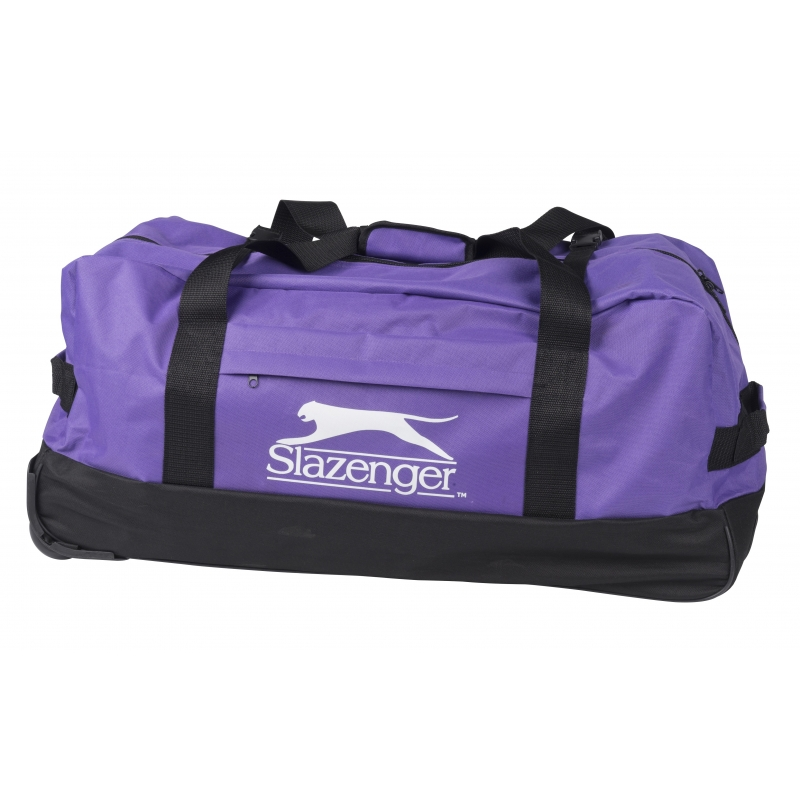 Image of Paarse trolley Slazenger 73 cm