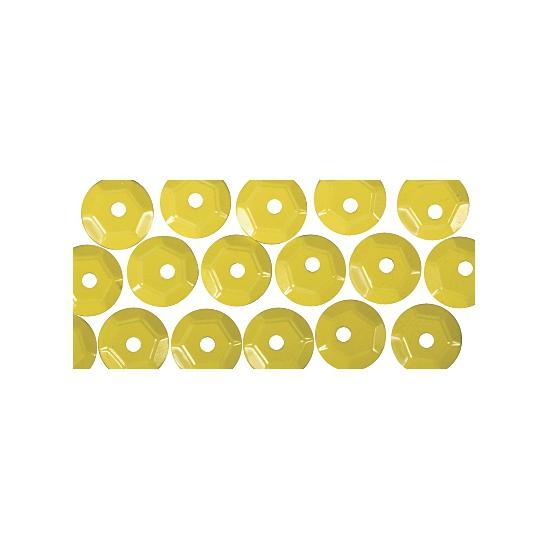 Image of Pailletten geel 500 stuks