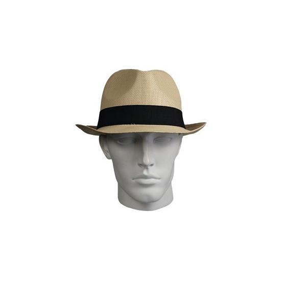 Panama stro hoed naturel