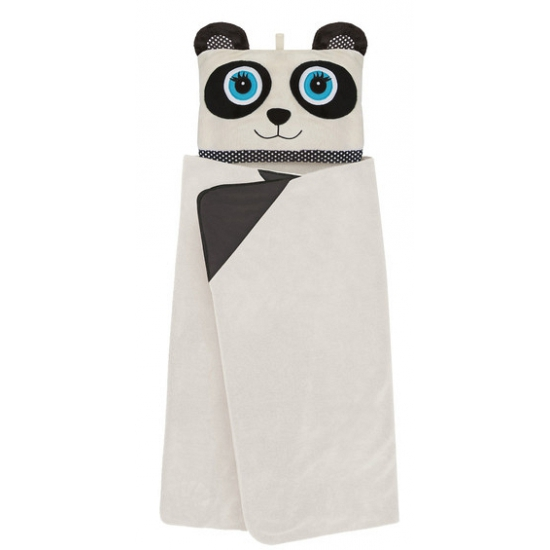 Panda omslag dekentje voor kids