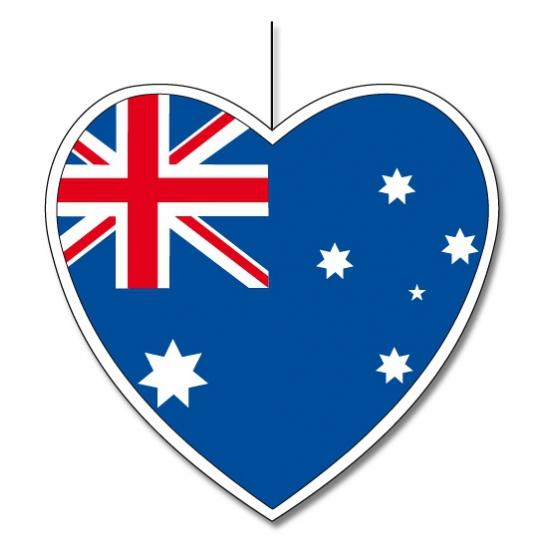 Image of Papieren Australie decoratie 14 cm