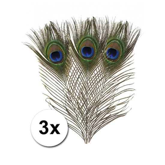 Image of Pauwen veren ter decoratie