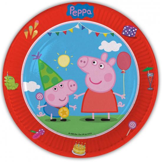 Image of Peppa Big bordjes 8 stuks