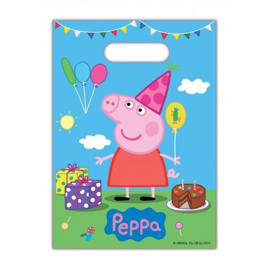 Image of Peppa Big feestzakjes 8 stuks