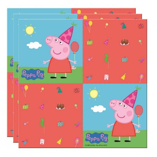 Image of Peppa Big servetten 20 stuks