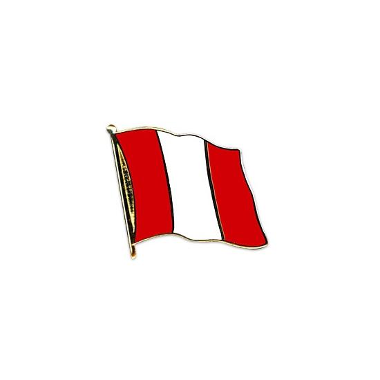 Peru pin vlag 20 mm