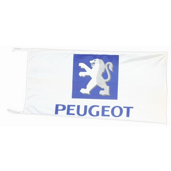 Image of Peugeot vlag 150 x 75 cm