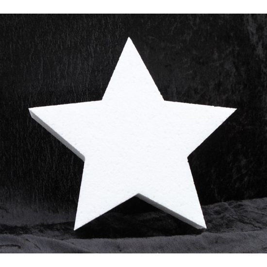Image of Piepschuim vorm ster 10 cm
