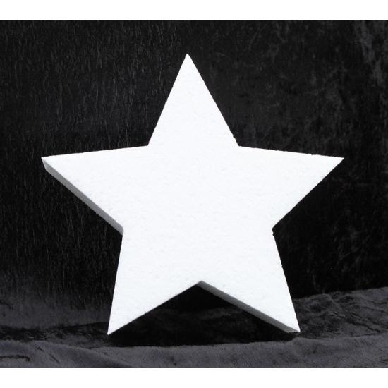 Image of Piepschuim vorm ster 20 cm