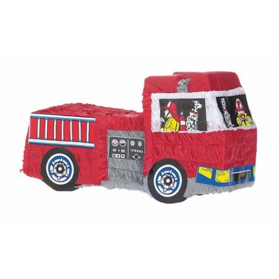 Image of Pinata brandweerwagen 48 cm