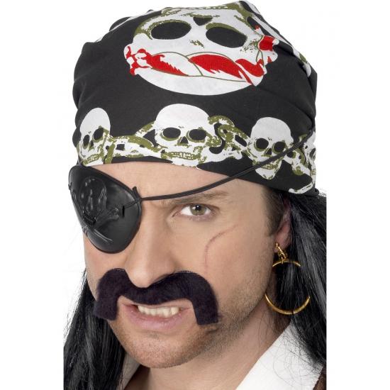 Image of Piraten hoofddoeken met schedels